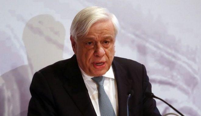 Ο Πρόεδρος της Δημοκρατίας Προκόπης Παυλόπουλος στο Μεσολόγγι