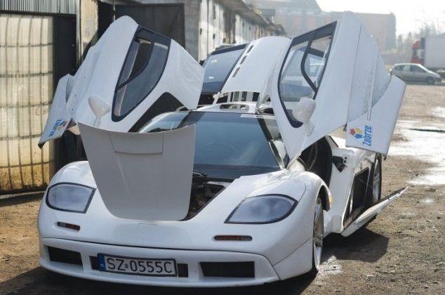 Κατασκεύασε αντίγραφο της McLaren F1 δαπανώντας 20 χιλιάδες λίρες