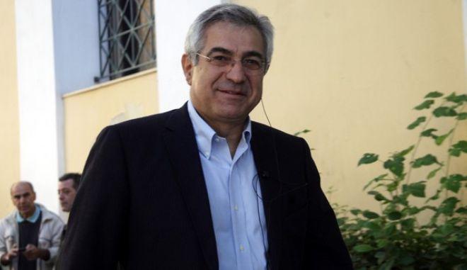 ΑΘΗΝΑ-Απολογία του Μιχάλη Καρχιμάκη για την υπόθεση των υποκλοπών στον  3ο τακτικό ανακριτή.(EUROKINISSI)