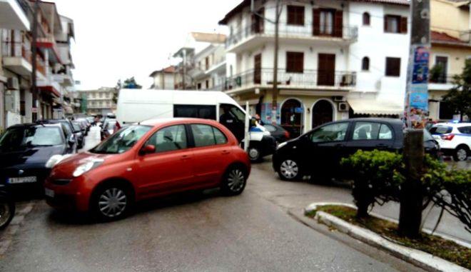 Φωτογραφία από το περιστατικό