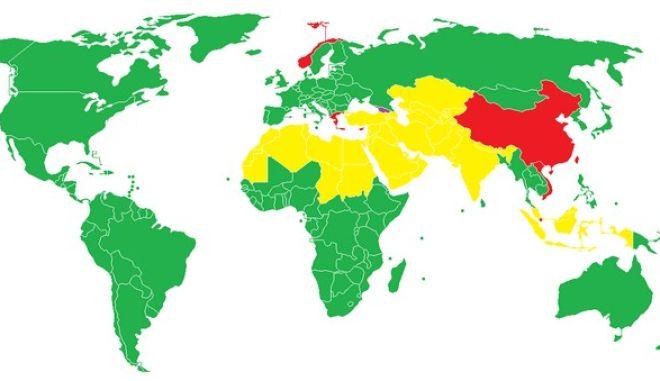 Χάρτης: Πώς λένε την Ελλάδα στο εξωτερικό