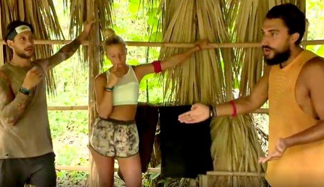 Survivor: Σοβαρός τσακωμός Σάκη και Καρολίνας - Οι τέσσερις υποψήφιοι προς αποχώρηση