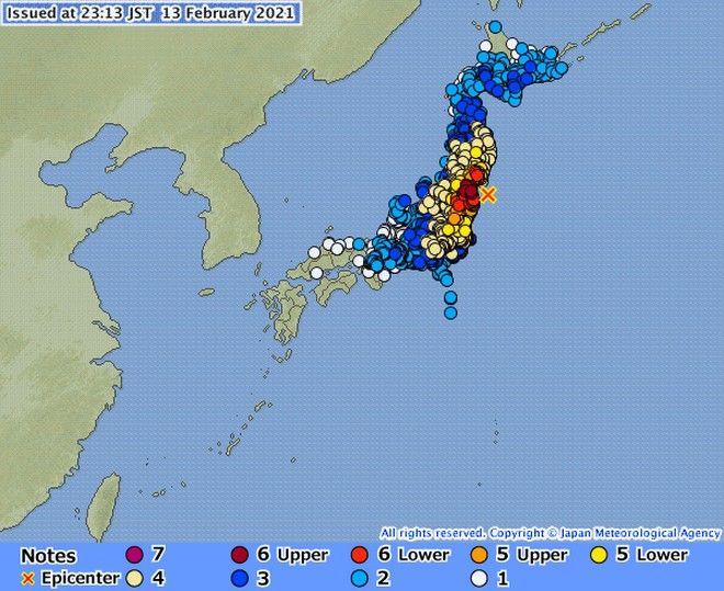 Σεισμός στην Ιαπωνία