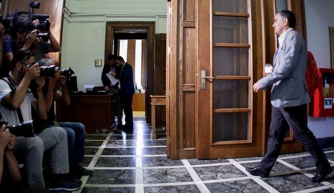 Ο υπουργός Οικονομικών Ευ. Τσακαλώτος