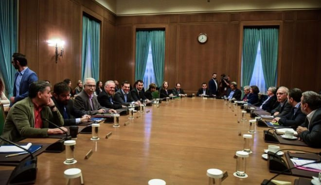 Συνεδρίαση του υπουργικού συμβουλίου υπό την προεδρία του πρωθυπουργού, Αλέξη Τσίπρα, την Τετάρτη 19 Δεκεμβρίου 2018