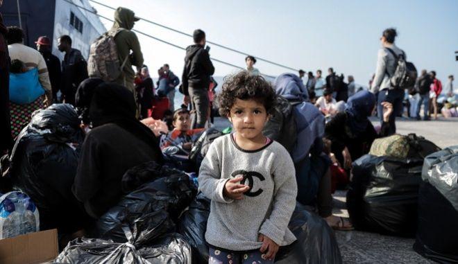 Φωτό αρχείου: Άφιξη προσφύγων