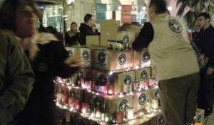 'Δέντρο Από Γάλα' στολίζουν οι 'Γιατροί του Κόσμου' στη Θεσσαλονίκη
