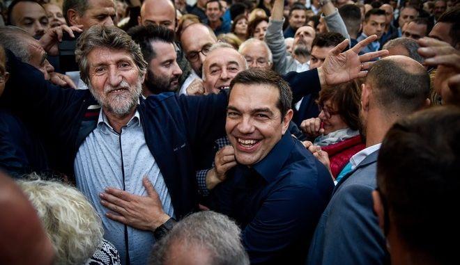 Περιοδεία στην πόλη της Πρέβεζας από τον Πρωθυπουργό Αλέξη Τσίπρα το Σάββατο 11 Μαΐου 2019. (EUROKINISSI/ΓΙΩΡΓΟΣ ΕΥΣΤΑΘΙΟΥ)