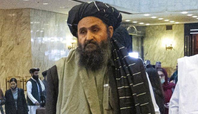 Ο συνιδρυτής των Ταλιμπάν Μουλά Μπαράνταρ που αναμένεται να ηγηθεί της νέας αφγανικής κυβέρνησης