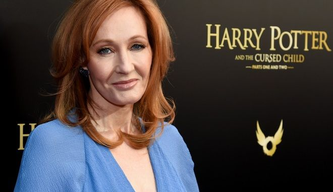 "J.K. Rowling στην πρεμιέρα του ""Harry Potter and the Cursed Child"" , στη Νέα Υόρκη (Photo by Evan Agostini/Invision/AP)"
