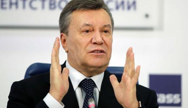 Ο πρώην Ουκρανός πρόεδρος
