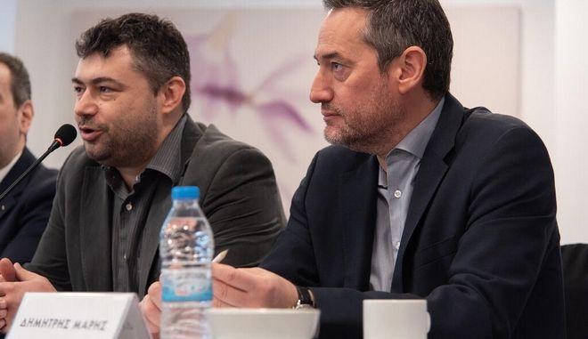 Ο Δημήτρης Μάρης, Πρόεδρος της Ένωσης Εκδοτών Διαδικτύου