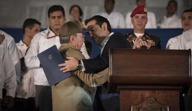 Ο διάλογος Α. Τσίπρα-Ρ. Κάστρο για την ΕΕ και το γιο του πρωθυπουργού