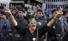 Καρέ από τις διαδηλώσεις στο Λίβανο