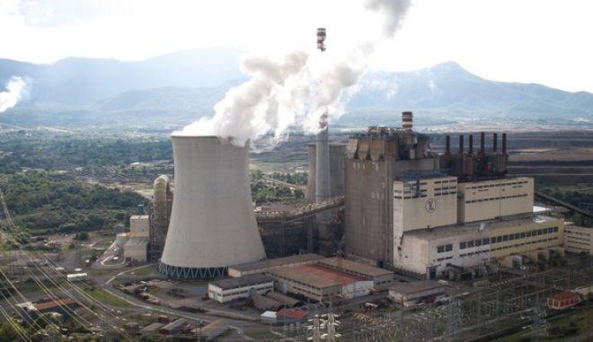 Μεγαλόπολη: Το εργοστάσιο παραγωγής ηλεκτρικής ενέργειας.