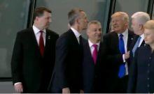 Βίντεο: Ο Τραμπ έσπρωξε τον πρωθυπουργό του Μαυροβουνίου