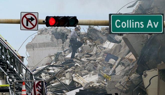 Μαϊάμι: Στους τέσσερις οι νεκροί από την κατάρρευση κτιρίου - Δεκάδες αγνοούμενοι