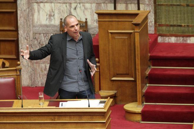 Ιούνιος 2015: Ο τότε υπουργός Οικονομικών Γιάνης Βαρουφάκης.