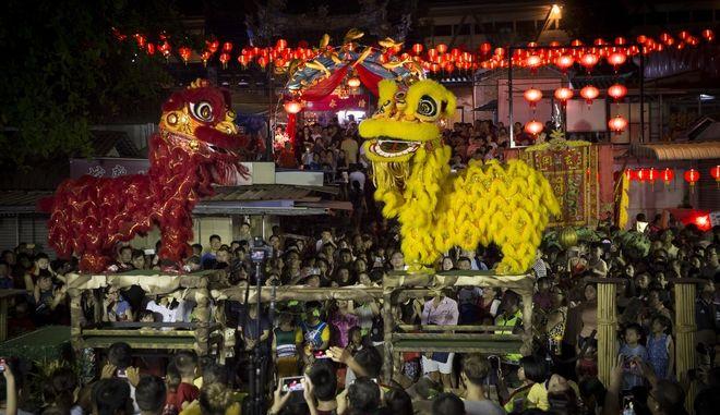 'Βούλιαξε' το Πεκίνο ανήμερα της Κινεζικής Πρωτοχρονιάς
