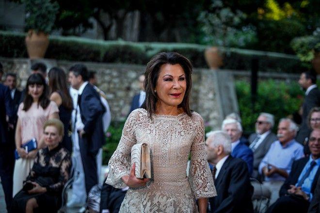 Η Γιάννα Αγγελοπούλου-Δασκαλάκη στο Προεδρικό Μέγαρο