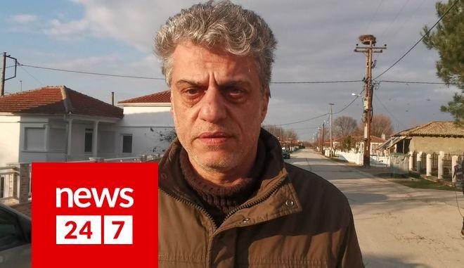 Ο Δήμαρχος Ορεστιάδας Βασίλης Μαυρίδης