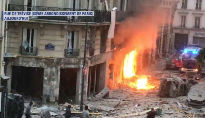 Πολλοί τραυματίες από ισχυρή έκρηξη στο Παρίσι