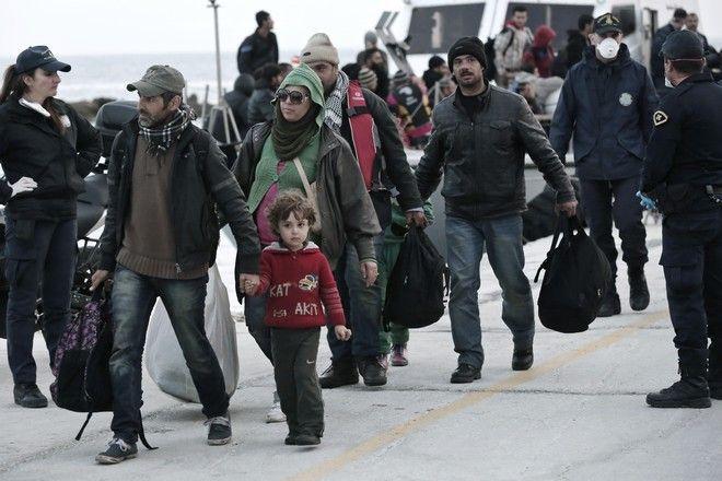 Φωτό αρχείου: Μετανάστες στην Ελλάδα