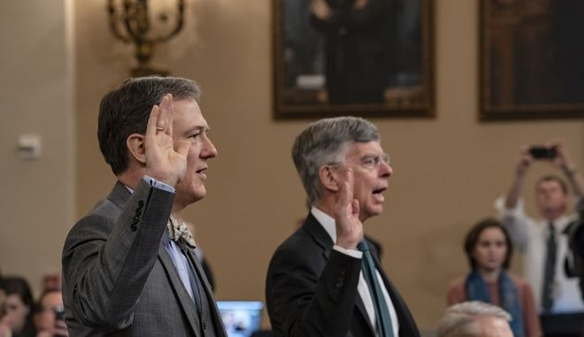 Ο Τζορτζ Κεντ και ο Ουίλιαμ Τέιλορ στο Κογκρέσο