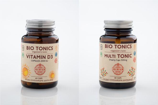 Σαρώνουν τις προτιμήσεις τα συμπληρώματα διατροφής BIO TONICS