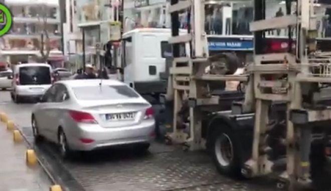 Τι γίνεται αν παρκάρεις παράνομα στην Κωνσταντινούπολη
