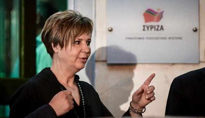 Η υπουργός Προστασίας του Πολίτη, Όλγα Γεροβασίλη