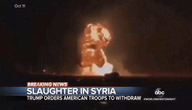 Κατακραυγή: Το ABC έπαιξε βίντεο από επίδειξη στο Κεντάκι ως πλάνα από τη Συρία