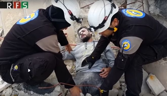 Σάλος για το mannequin challenge των White Helmets στην εμπόλεμη Συρία