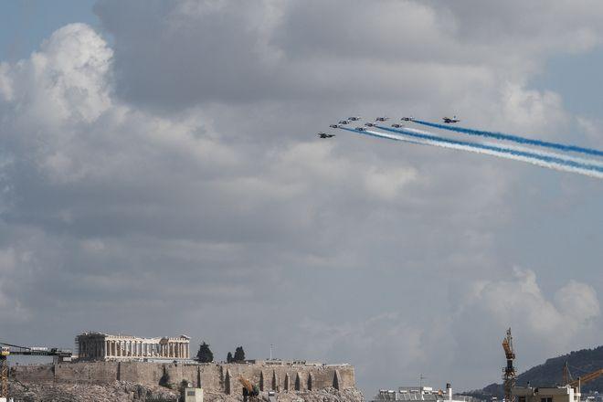 Μαχητικά πάνω από την Αθήνα: Rafale