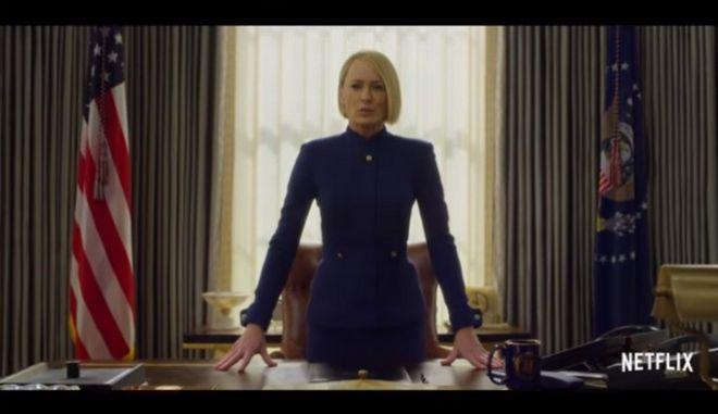 Το House of Cards χωρίς τον Κέβιν Σπέισι: Δείτε το πρώτο trailer της τελευταίας σεζόν