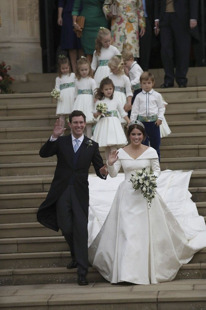 Ο γάμος της πριγκίπισσας Ευγενίας με τον Τζακ Μπρούκσμπανκ