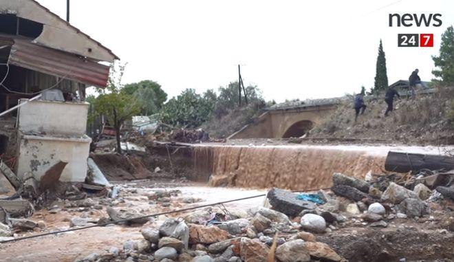 Απόγνωση στη Νέα Πέραμο: Μάχη με τον χρόνο και τη λάσπη