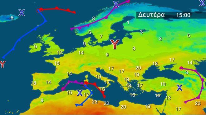 Σχεδόν αίθριος καιρός - Μικρή άνοδος της θερμοκρασίας