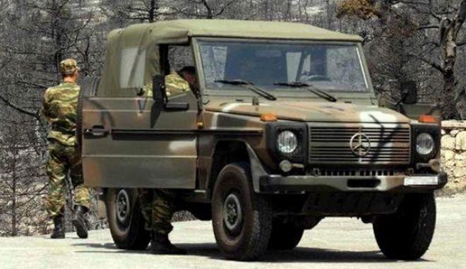 Δεν προκύπτει εμπρησμός στρατιωτικού τζιπ στο Γουδή