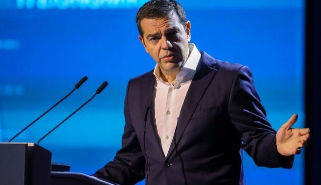 Ο πρόεδρος του ΣΥΡΙΖΑ-Προοδευτική Συμμαχία στο THESSALONIKI HELLEXPO FORUM