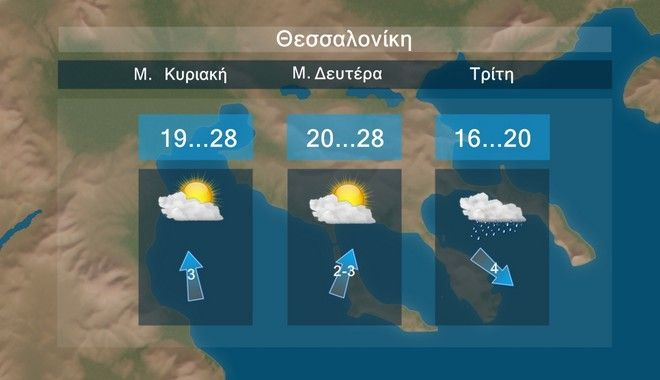 Καιρός: Πτώση θερμοκρασίας από Τρίτη του Πάσχα
