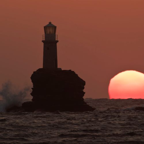 Στιγμιότυπο από το νησί της Άνδρου