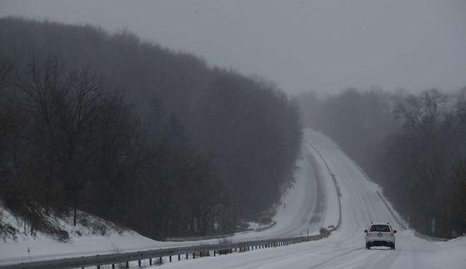 Χιόνια στην Πενσιλβανία - φωτό αρχείου