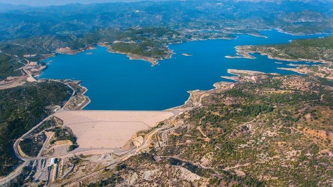 Φράγμα Γαδουρά: Το μεγαλύτερο τεχνικό έργο της νησιωτικής Ελλάδας