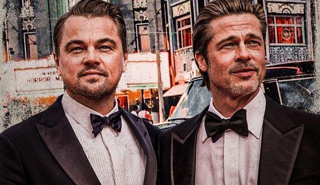 Brad Pitt και Leonardo DiCaprio μιλούν για τη φιλία και το πώς να μεγαλώνεις αξιοπρεπώς στο Χόλιγουντ