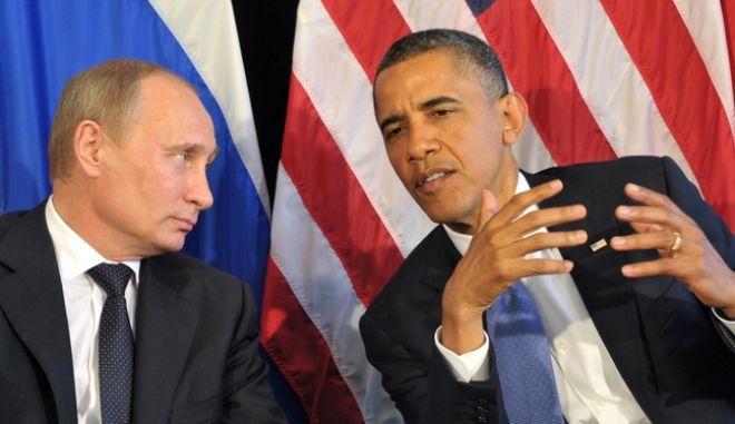 Τα είπαν στο τηλέφωνο Ομπάμα - Πούτιν