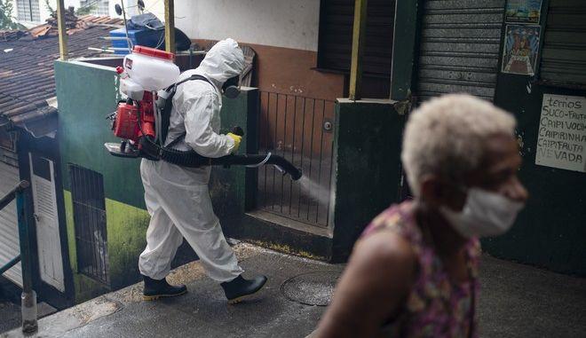 Απολύμανση στη Βραζιλία
