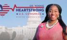 Η Winnie Heartstrong, Ρεπουμπλικανή υποψήφια για το Κογκρέσο των ΗΠΑ