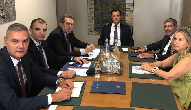 Α. Γεωργιάδης: Θα δημιουργήσουμε ομάδα συνεργασίας για την πάταξη του παραεμπορίου