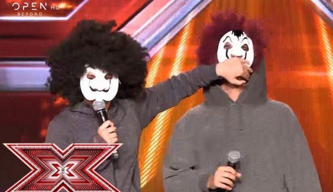 """Χ-Factor: """"Είστε σοβαροί;""""- Η αντίδραση του Θεοφάνους όταν είδε τα παιδιά του στη σκηνή"""